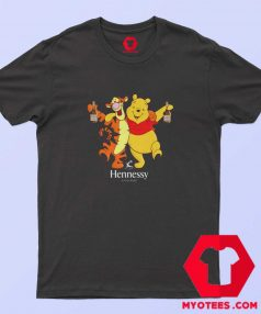 Winnie The Pooh Hennessy Cognag Unisex T shirt