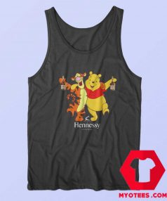 Winnie The Pooh Hennessy Cognag Unisex Tank Top