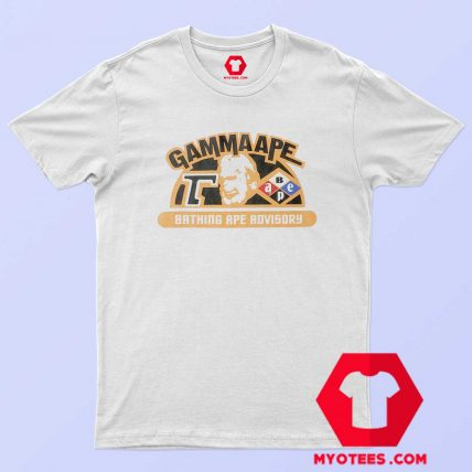A Bathing Ape Classic Gamma Ape Unisex T Shirt