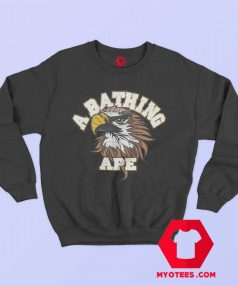 A Bathing Ape Eagle College Unisex Sweatshirt