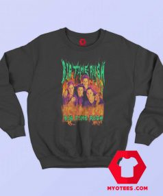 Big Time Rush Heavy Metal Flame Unisex Sweatshirt
