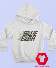 Billie Eilish X Uniqlo Green Flames Hoodie
