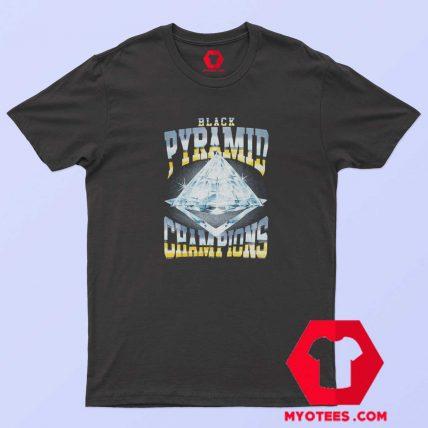 Black Pyramid Diamond Champions T Shirt
