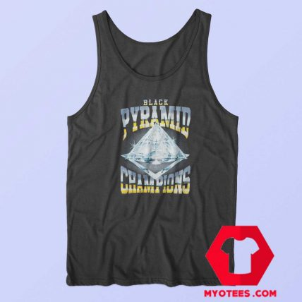 Black Pyramid Diamond Champions Tank Top