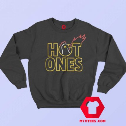 Chicken Wing Hot Ones Unisex Sweatshirt