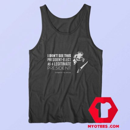 Civil Rights Icon Rep John Lewis Quote Unisex Tank Top