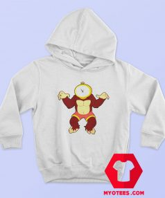 Doctor Zone and Time Gorila Ape Unisex Hoodie