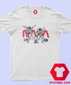 Funny Dancing Nasa Astronaut Unisex T Shirt
