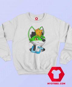 Funny Green Cartoon Unisex Sweatshirt On Sale