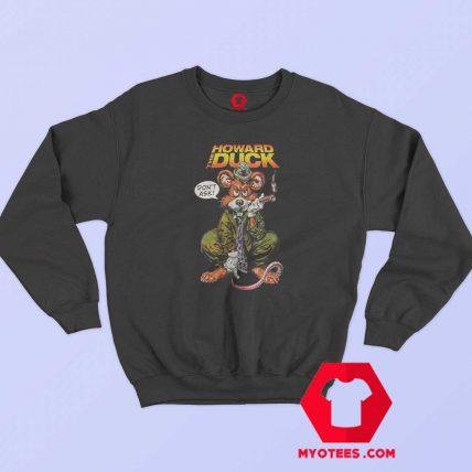 Funny Howard the Duck Rat Unisex Sweatshirt