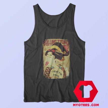 Funny Rolling Stones Vintage Death Unisex Tank Top
