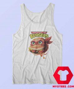 Funny Turtle Ninja Burger Unisex Tank Top