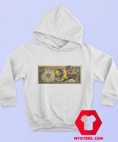 Homer Simpsons Duff One Dollar Unisex Hoodie