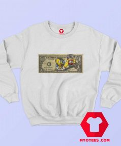 Homer Simpsons Duff One Dollar Unisex Sweatshirt