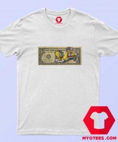 Homer Simpsons Duff One Dollar Unisex T Shirt