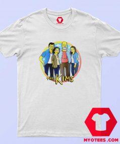 Kim Family Parody Simpsons Unisex T shirt
