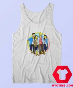 Kim Family Parody Simpsons Unisex Tank Top