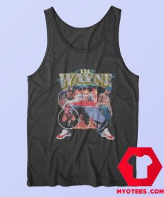 Lil Wayne King Vintage 90s Rap Inspired Tank Top