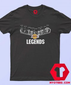 Los Angeles Lakers Legends Unisex T Shirt