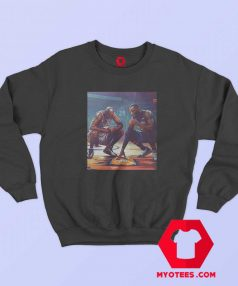 Michael Jordan Lebron James Unisex Sweatshirt