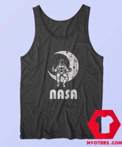 NASA Astronaut Moon Space Unisex Tank Top