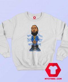 Nipsey Hussle Toon Cool Unisex Sweatshirt