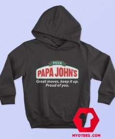 Pizza Papa Johns Quote Parody Unisex Hoodie
