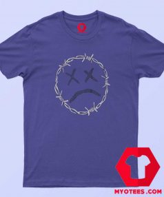 Purple Barbed Wire Lil Pump Unisex T Shirt