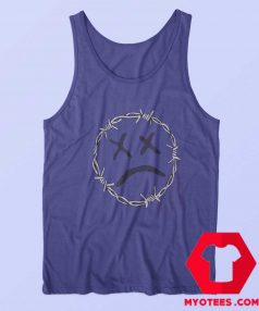 Purple Barbed Wire Lil Pump Unisex Tank Top