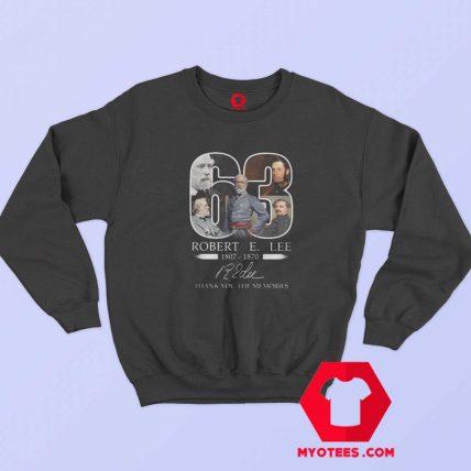 Robert e Lee 1807 1870 Graphic Sweatshirt
