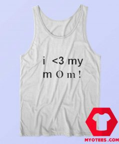 Shawn Mendez I Love My Mom Unisex Tank Top