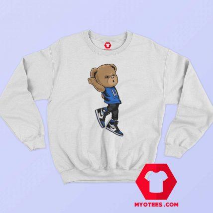 Shootin Dab Bear Graphic Unisex Sweatshirt