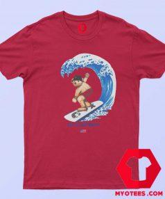 Shoreline Mafia Bear Surving Unisex T Shirt