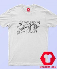 Supreme Velvet Underground Drawing T Shirt
