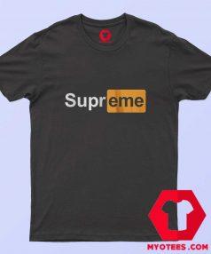 Supreme x Pornhub Parody Unisex Adult T Shirt