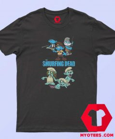 The Smurfing Version Walking Dead T Shirt