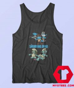 The Smurfing Version Walking Dead Tank Top