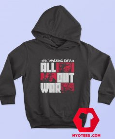 The Walking Dead All Out War Unisex Hoodie