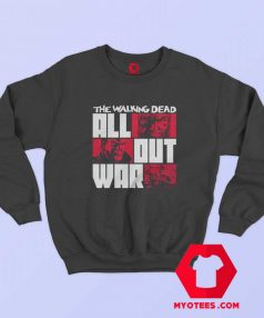 The Walking Dead All Out War Unisex Sweatshirt