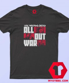 The Walking Dead All Out War Unisex T shirt