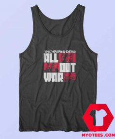 The Walking Dead All Out War Unisex Tank Top