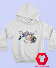 Tom Jerry Running Take Shoes Unisex Hoodie
