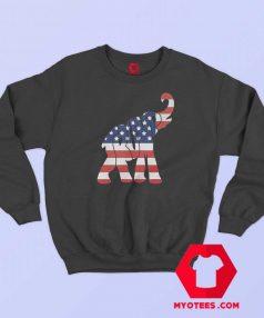 Trump 2020 x Elephant Funny Unisex Sweatshirt
