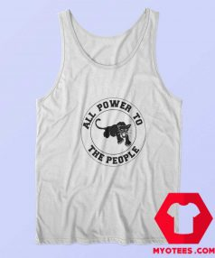 Vintage Black Panther All Power To The People Tank Top