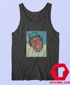 Vintage Tyler The Creator Golf Green Hat Tank Top