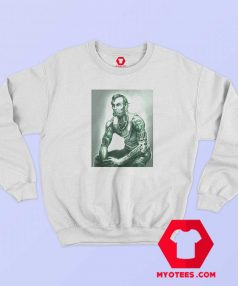Abraham Lincoln Tattoo Muscular Art Sweatshirt