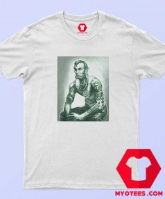 Abraham Lincoln Tattoo Muscular Art T Shirt