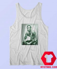 Abraham Lincoln Tattoo Muscular Art Tank Top