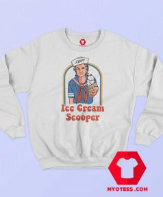 Ahoy Ice Cream Scooper Graphic Sweatshirt