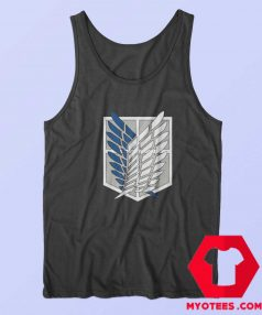 Attack on Titan Scouting Legion Custom Tank Top